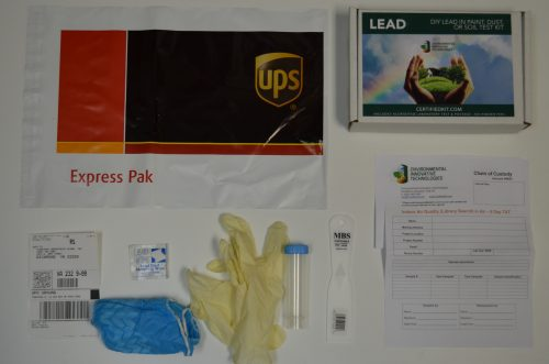 Lead in PDS DIY Test Kit