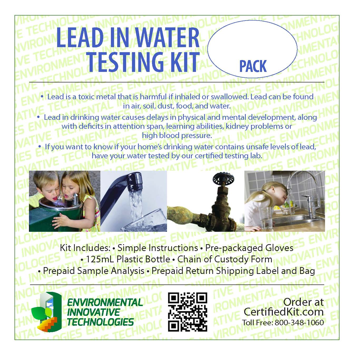 home lead water test