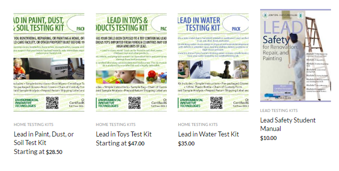 Diy lead test kit solutioingenieria Images